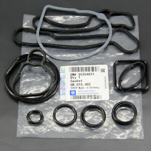 New Gm Oem Engine Oil Cooler Gasket Seal 55353320 Chevy Cruze Aveo Sonic Ope