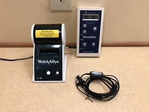 Welch Allyn Oae Hearing Screener With Label Printer New Calibration Cert