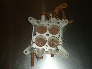 Holley 4 barrel Carburetor Baseplate 750 780 Cfm Vacuum Secondary Carb 12r 4233