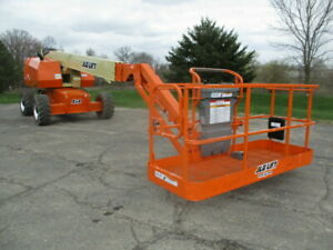 2012 Jlg 660sj 3 025 Hours New Paint And Decals Fresh Service And Fresh Annual