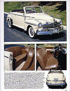 1947 Mercury Convertible Article Must See