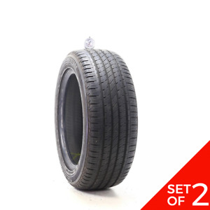 Set Of 2 Used 205 55r16 Bridgestone Turanza El42 Rft 91h 7 5 8 32