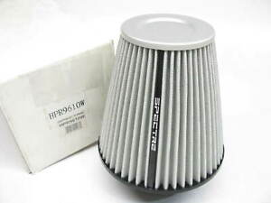 Spectre Performance High Flow Cold Air Intake Cone Air Filter 3 Inlet 9 Tall
