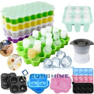 Silicone Ice Cream Ice Cube Frozen Mold Bpa Free Diy Juice Popsicle Maker Mould