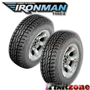 2 Ironman All Country A t Lt235 75r15 104 6 ply All Terrain Any weather Tires