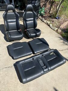 2002 2006 Acura Rsx Leather Seats Set Complete Clean Ships Fast