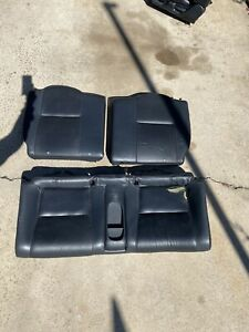 2002 2006 Acura Rsx Rear Leather Seat Set Clean Ships Fast