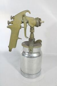 Devilbiss Air Spray Paint Spray Gun With Canister Jga 502 30 Nozzle