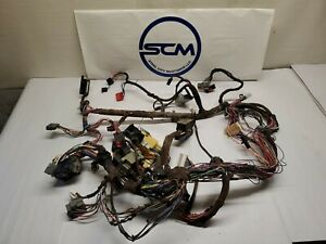 1994 95 Ford Mustang Gt V8 Manual 5 Speed Dash Wiring Harness Oem F4zb 14401 Bb