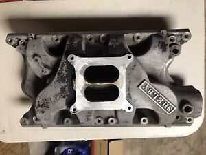 Original Shelby 351w Aluminum Intake Manifold Buddy Bar Casting 351 Windsor