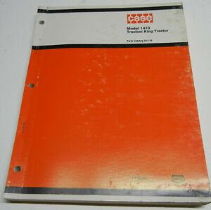 Case 1470 Traction king D1110 Oem Factory Parts Catalog