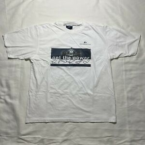 Vintage 2001 Bmw Williams F1 Team get The Power Graphic T shirt Size 2xl