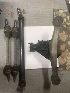 90 05 Mazda Mx 5 Miata Complete Torsen Lsd Differential Swap Driveshaft Axles