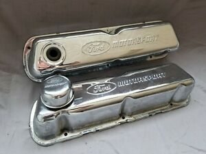 Ford Motorsport Sbf 289 302 351 Tall Aluminum Valve Covers Proform