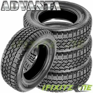 4 Advanta Atx 750 235 75r15 109s All Terrain A T 50000 Mile Warranty Truck Tires
