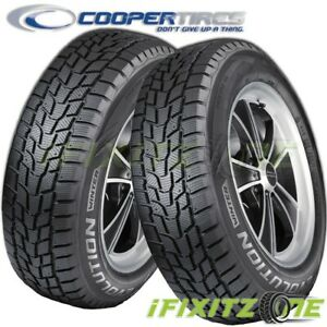 2 Cooper Evolution Winter 235 70r16 106t Tires Snow Studdable Passenger Suv