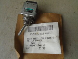 1 Ea Nos Honeywell Micro Toggle Switch W Various Applications P n 23at57t