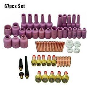 Tig Welding Accessories Consumables Kit High Quality Fitting Practical
