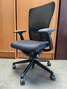 Haworth Zody Office Chair Fully Adjustable loaded 4 d Arms Lumbar Support