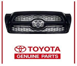 Genuine Toyota 2005 2011 Tacoma Sport Painted Honeycomb Grille Black