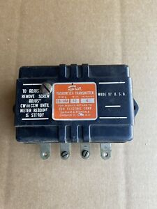 Vintage Sun Tachometer Transmitter 4 Cylinder 12 Volts model Eb 14a Repaired