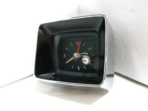1966 Pontiac Bonneville Catalina Grand Prix Clock Serviced Tested And Working 66