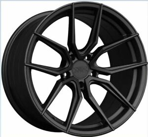 19x8 5 40 Xxr 559 5x120 Flat Graphite Rims Set Of 4