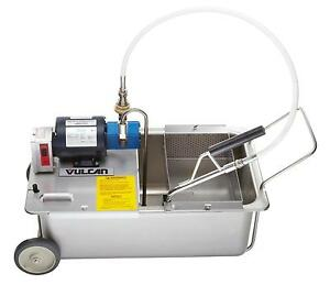 Vulcan Mf 1 Mobile Electric Fryer Filter W 110 Lbs Capacity