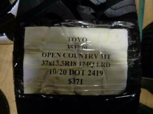 1 New Toyo Open Country Mt 37 13 5 18 124q Lrd Tire 360300 Q1