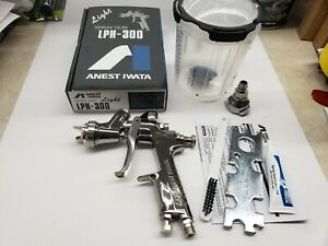 Anest Iwata Lph300lv Gravity Feed Hvlp Paint Spray Gun Only W 1 3mm Nozzle 3955