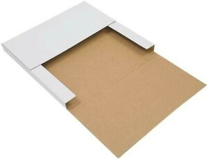 25 Premium Lp Record Album Book Box Catalog Mailers Boxes Variable Depth New