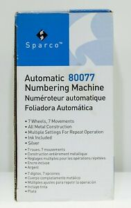 Sparco Automatic 80077 Numbering Machine
