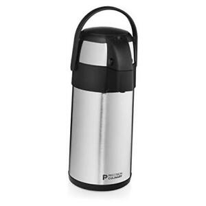 Airpot Coffee Dispenser With Pump stainless Steel Thermal Coffee Carafe