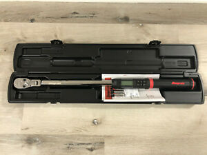 Snapon Atech3fr250b Digital Torque Wrench New 1 2 Drive 12 250 Ft Lb Flex Head
