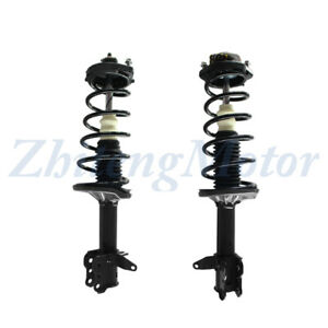 Rear Complete Shocks Struts Springs Coil Assembly For 2002 2003 Mazda Protege5