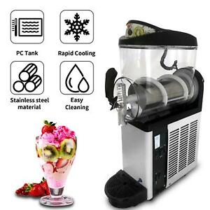 12l Commercial Slush Frozen Drink Machine Juice Beverage Ice Slush Maker Us
