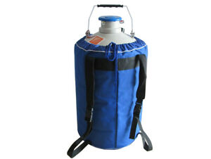 Portable 6l Static Cryogenic Liquid Nitrogen Storage Tank Container With Strap