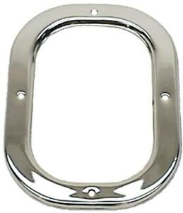 1969 Camaro Shifter Boot Retainer Plate Manual Transmission Chrome For Cars
