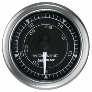 Auto Meter For Wideband Chrono 2 1 16in Size Analog Air Fuel Ratio Gauge 8170