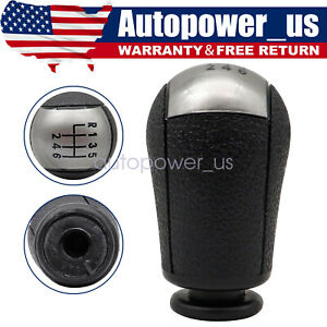 Black 6 Speed Car Gear Stick Shift Knob Fit For 2011 2012 Ford Mustang Us