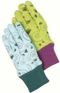 Magid Childrens Butterfly Print Jersey Glove 12 Pair