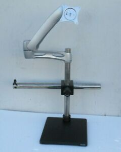 Horizont Large Boom Stereo Microscope Stand With Lcd Monitor Mount Heavy Base