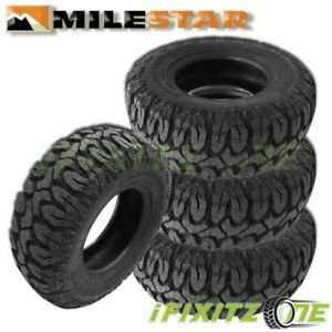 4 Milestar Patagonia M t Lt295 70r17 121 118q E 10 All Season Lt Truck Mud Tires