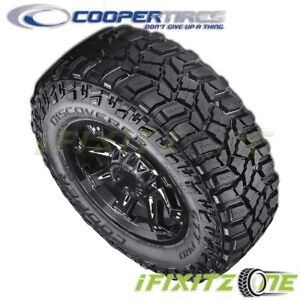 1 Cooper Discoverer Stt Pro Lt295 65r20 129q E Off road Truck Mud Tires