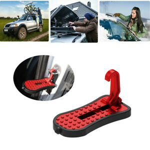 Aluminum Alloy Vehicle Access Roof Of Car Door Step Rooftop Latch Pedal Hook