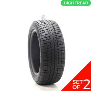 Set Of 2 Used 225 55r17 Michelin X Ice Xi3 101h 8 8 5 32
