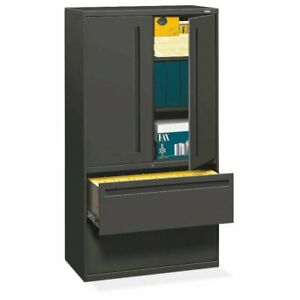 Hon Brigade 700 Series Lateral File 2 Drawers 3 Shelves With Doors