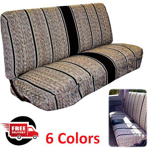Truck Pickup Suv Car Saddle Blanket Bench Seat Cover Chevrolet Dodge Ford Full