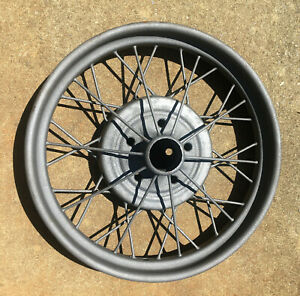 1928 1929 Model A Ford 21 Inch Wire Spoke Wheel Original 5 Lug Great Shape