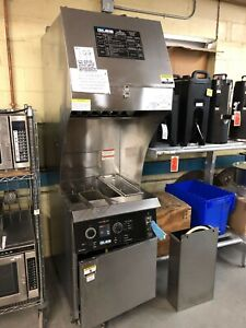 Used Giles Gbf 35d vh Ventless Electric Fryer W Filtration Very Clean